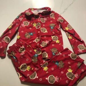 Cozy fleece pajamas
